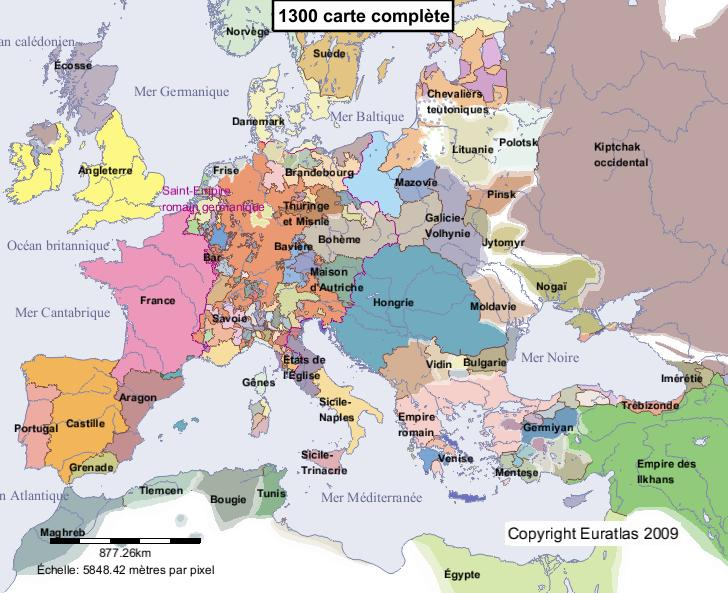 Carte Complete De L Europe | My blog